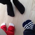 五本指ソックスが子供にいい!子供の運動能力を上げる方法。